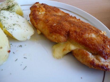 Przepis: Filet z kurczaka nadziewany serem zółtym