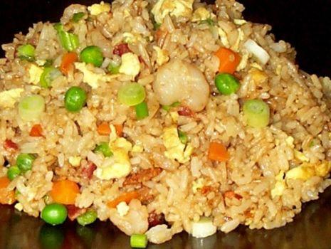Przepis: ryż smażony z warzywami