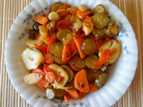 Przepis: Warzywa z patelni
