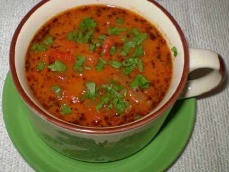 Przepis: Czerwona zupka :