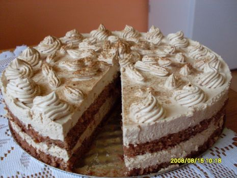Przepis: Tort kawowy