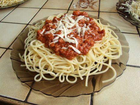 Przepis: Spagetii  bolognese