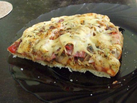 Przepis: Pizza Salamigos