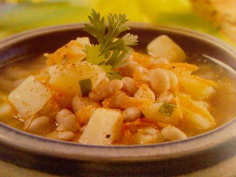 Przepis: Zupa fasolowa