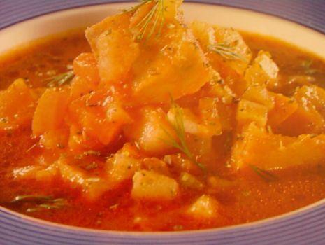 Przepis: Rybna zupa gulaszowa