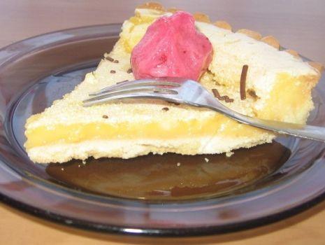 Przepis: tarta cytrynowa
