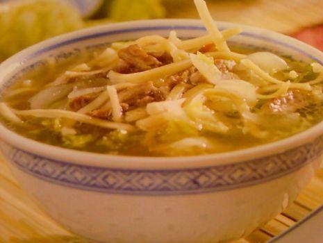"""Przepis: Chińska """"długa zupa"""""""