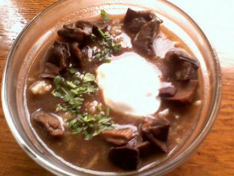 Przepis: zupa grzybowa