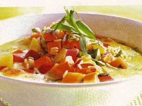 Przepis: Słodko-kwaśna zupa z marchwi