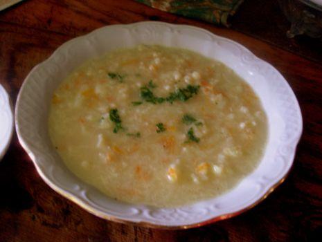 Przepis: zupka kalafiorowa
