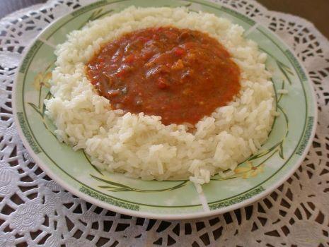 Przepis: leczo z ryżem