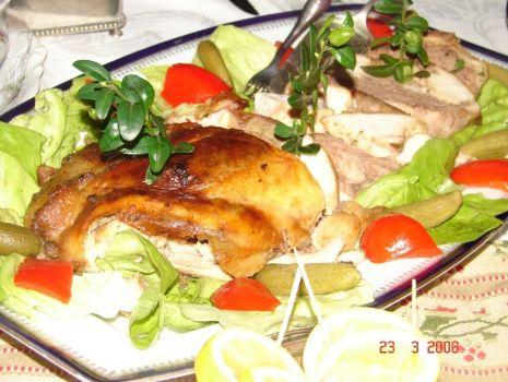 Przepis: Babciny kurczak