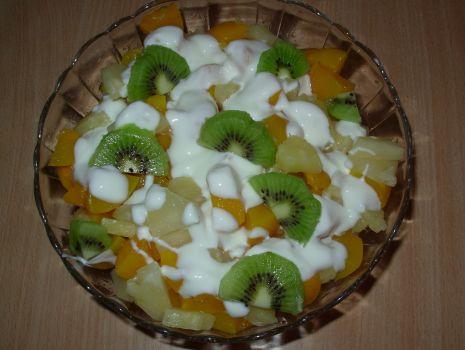 Przepis: Owocowa sałatka
