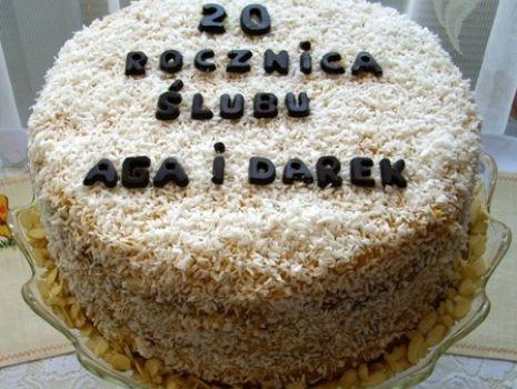 Przepis: Tort jubileuszowy wg Aleex