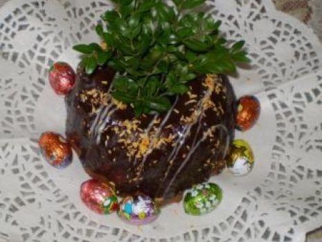 Przepis: Babka ucierana kakaowa z polewą :