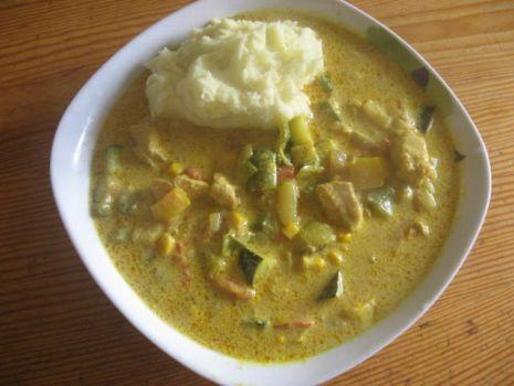 Przepis: Kurczak curry