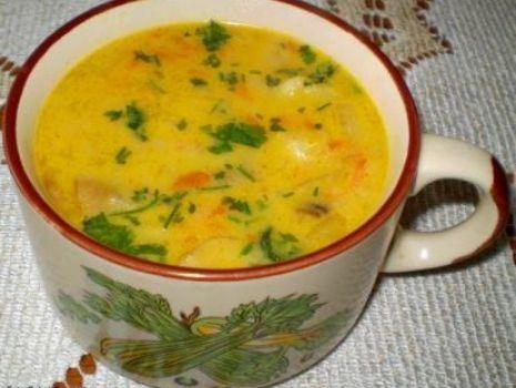 Przepis: Zupa zacierkowa z warzywami :