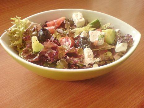 Przepis: sałatka grecka