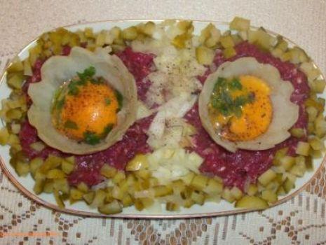 Przepis: Prawie tatar na kolację :