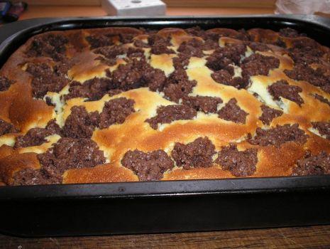 Przepis: ciasto łaciate