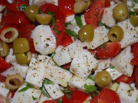 Przepis: Pomidorki z Mozarellą