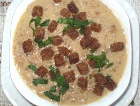 Przepis: Zupa cebulowa Ancutów :