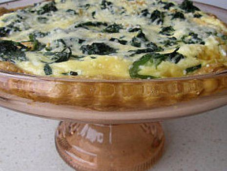 Przepis: Łosoś z serem i szpinakiem