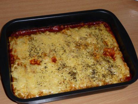 Przepis: Cannelloni faszerowane z mięsem i warzywami