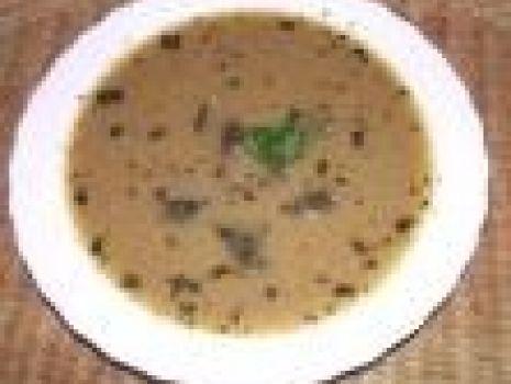 Przepis: Zupa grzybowa z łazankami