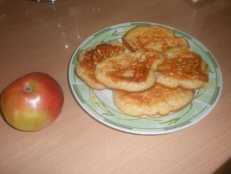 Przepis: Jabłkowe placki