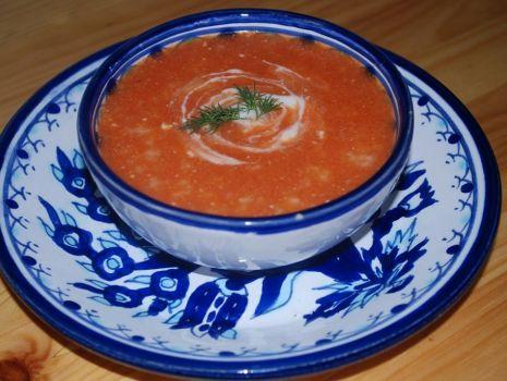 Przepis: Pomidorowa wg Potok I