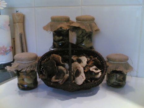 Przepis: Marynowane grzybki