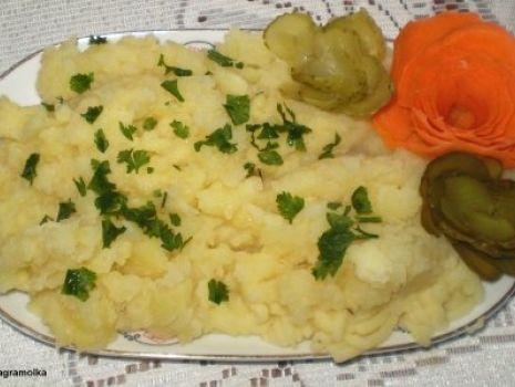 Przepis: Puree ziemniaczano – jabłkowe :