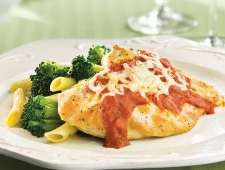 Przepis: Kurczak z brokułami i mocarellą