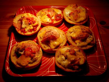 Przepis: Grzanki z serem mozarella