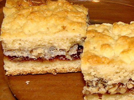 Przepis: Kruche ciasto z orzechami