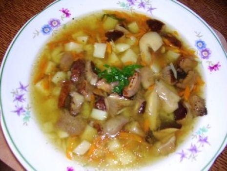 Przepis: Zupa grzybowa pachnąca lasem wg Aleex