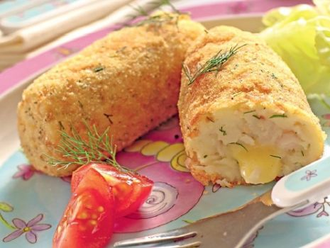 Przepis: Krokiety z żółtym serem