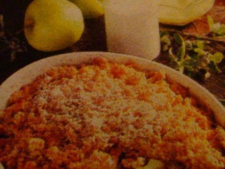 Przepis: Zapiekanka z jabłek