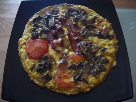 Przepis: Omlet z ziołami