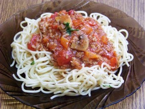 Przepis: Niemiecki sos do spaghetti wg Aleex