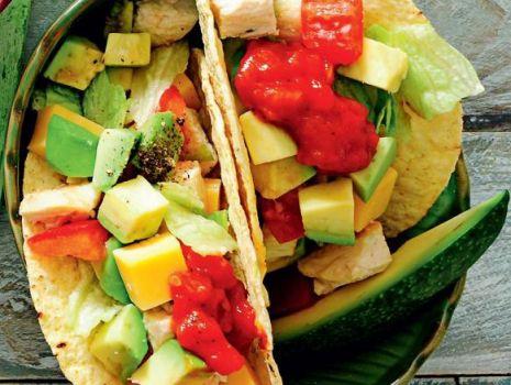 Przepis: Tacos z kurczakiem i awokado