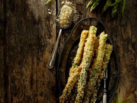 Przepis: Szparagi pieczone i chrupiące