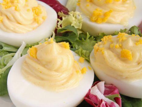 Przepis: Jajka w majonezie