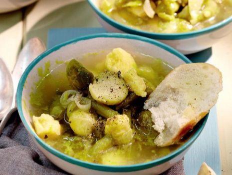 Przepis: Zupa - Zielone Minestrone