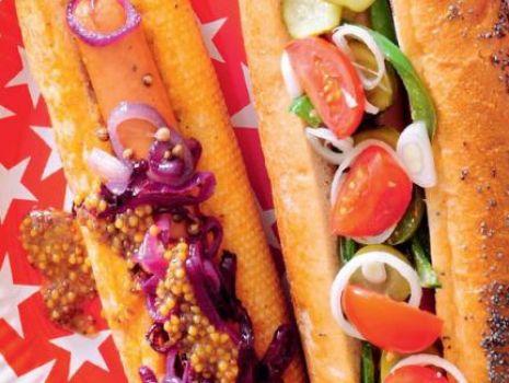 Przepis: Domowe hot dogi french i chicago style