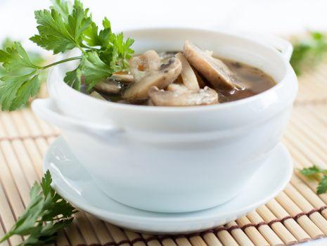 Przepis: Zupa grzybowa z gniocchi