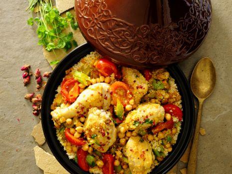 Przepis: Kurczak po marokańsku