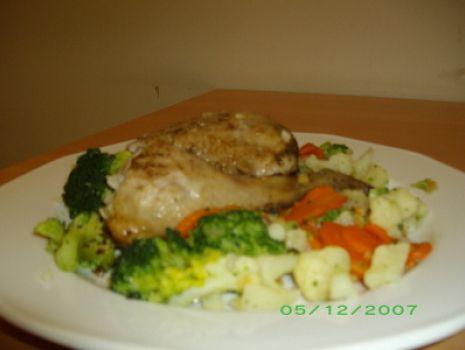 Przepis: Pieczony kurczak z warzywami