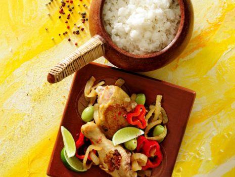 Przepis: Kurczak po senegalsku